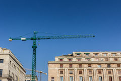 Crane building construction Stock Photography