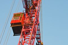 Crane cabin Royalty Free Stock Photo
