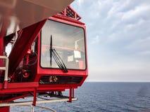 Free Crane Cabin In Oil Plant Field. Stock Photo - 59528080