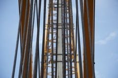 Crane Cables  Royalty Free Stock Photos