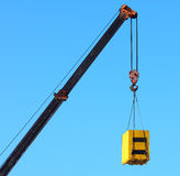 Crane and cargo Royalty Free Stock Photo