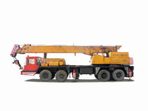 crane ciężarówka Fotografia Royalty Free