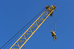 Crane close up Royalty Free Stock Photo