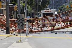 Crane Collapse at Dundas and River 08-06-20