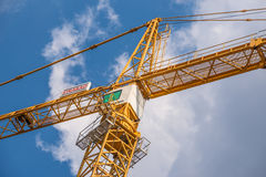 Crane of the company Stock Images