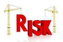 Crane concept - risk Stock Image