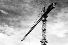 Crane construction Royalty Free Stock Image