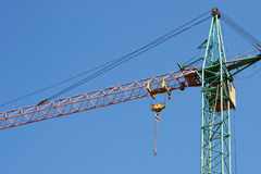 Crane for construction industry Royalty Free Stock Photo