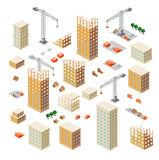 Crane construction industry Royalty Free Stock Photography