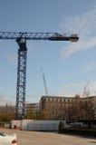 Crane Construction pesado foto de archivo libre de regalías