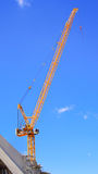Crane, construction and port industries Royalty Free Stock Image