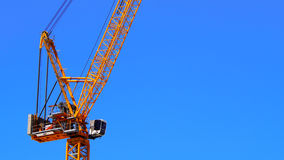 Crane, construction and port industries Stock Photo