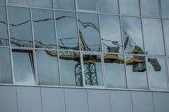 Crane construction Stock Photos