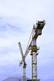 Crane  at construction site Stock Image
