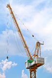 Crane of construction site Royalty Free Stock Image