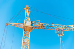 Crane on a construction site Stock Photography