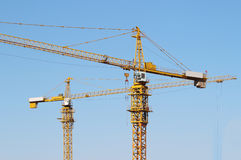 Crane in Construction Stock Photography