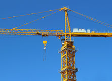 Crane in Construction Stock Image
