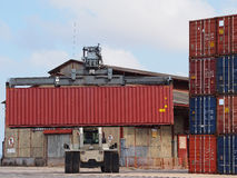 Crane container Stock Photos