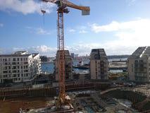 Crane in Copenhagen Stock Photos