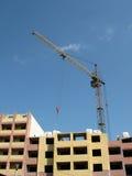 Crane in costruzione Fotografie Stock