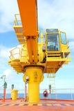 Crane, Crane winch, hook Royalty Free Stock Photos