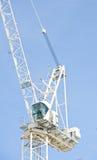 Crane detail against the sky. Stock Photos