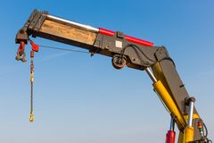 Crane with detail of a jib Stock Photography