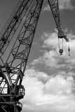 Crane of the dock Stock Photography