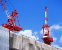 Crane in dock Stock Photography