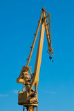 Crane of the dockyards Royalty Free Stock Images