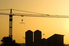 Free Crane For Construction Industry Royalty Free Stock Photo - 5422765