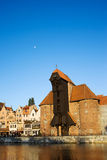 The Crane in Gdansk Royalty Free Stock Images