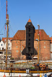 The Crane in Gdansk Royalty Free Stock Photo
