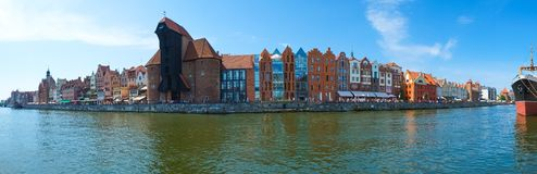 The Crane in Gdansk, Poland Stock Photography