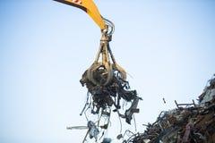 Crane grabber Royalty Free Stock Image
