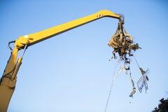 Crane grabber Stock Images