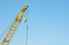 Crane at a harbour Royalty Free Stock Image