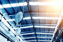 Crane hoist Stock Image