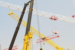The crane and hoists Stock Photography