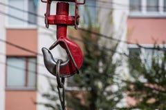 Crane Hook Stock Foto