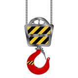 Crane hook Royalty Free Stock Photo