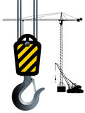 Crane Hook Royalty Free Stock Photography