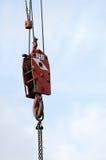 Crane hook Royalty Free Stock Image
