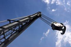 Crane with hook Royalty Free Stock Photos