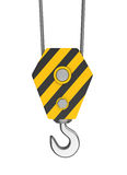 Crane Hook illustrazione di stock