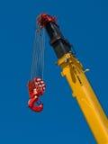 Crane hook Royalty Free Stock Photos