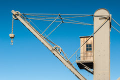 Crane with hook Stock Photography