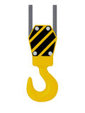 Crane hook. Royalty Free Stock Image