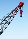 Crane Hook Portrait Stock Images